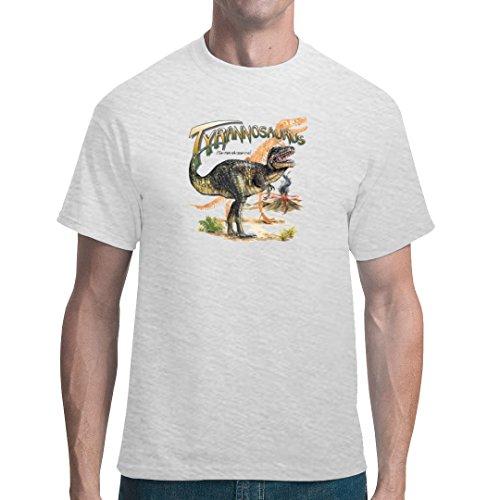 Fun unisex T-Shirt - Urzeit: Tyrannosaurus Rex by Im-Shirt Ash