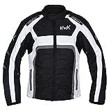 HWK Textile Motorcycle Jacket Cordura Motorbike Jacket Top 100% Waterproof CE Armoured 1