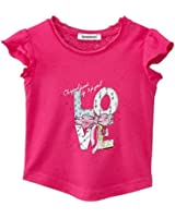 3 Pommes Baby - Mädchen T-Shirt, Uni