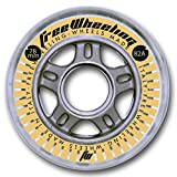 FreeWheeling Set nr. 4 Ruote Pattini Fitness 78mm 82A Argento 1117380