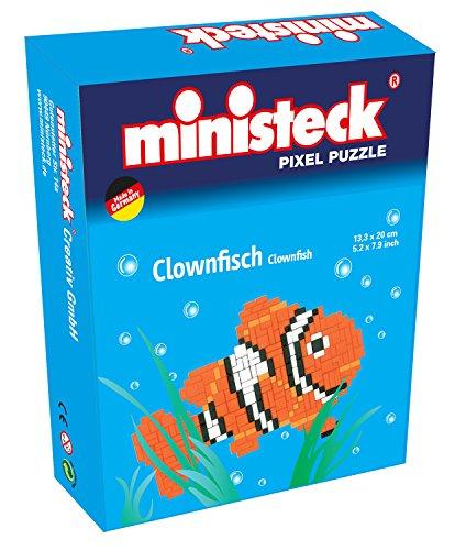 Ministeck 32562 Pez Payaso 133 x 200 mm Pixel Puzzle