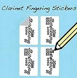 Pegatinas de digitación para clarinete superprácticas para estudiantes y profesores (250 unidades)