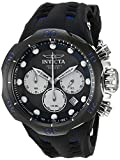 INVICTA MEN'S VENOM BLUE SILICONE BAND TITANIUM CASE SWISS QUARTZ WATCH 22350