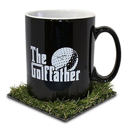 Le Père de golf (Golffather) Mug Tasse avec herbe Dessous