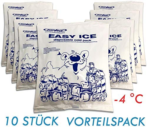 10x Unidades vez Hygiene–Compresa frío Hielo