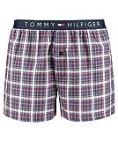 Tommy Hilfiger Herren Boxershorts Woven Boxer Check Marine (52) M