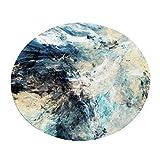 Kreative Mode Teppich Teppich für Wohnzimmer Schlafzimmer Nachtdecke Couchtisch Korb Stuhl Kissen (Farbe : #2, größe : Diameter 180cm)