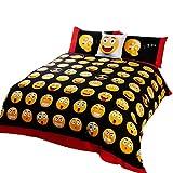 #10: Childrens/Kids Icons Design Reversible Duvet Cover Bedding Set (Single) (Multicoloured)