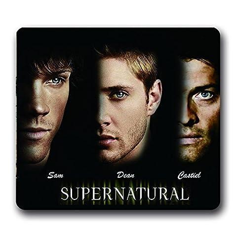 Supernatural TV Show Non-Slip Mouse Pad,Dean Sam Castiel 10