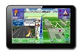 Erlinyou GP2000 - Navegador GPS con mapas de Europa (34 países), pantalla táctil de 5', manos libres, Bluetooth, 8 GB memoria RAM, negro
