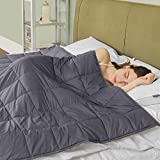 puredown Gewichtete Decke für 95-130kg, Besseren Schlafen und Entspannung,100% Baumwolle 150x200cm...