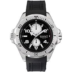GANT Herren-Armbanduhr XL Analog Quarz Plastik W10613