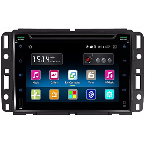 Lacaca 17,8 cm touch screen 2 DIN in dash Android 5.1 Quad Core auto stereo Head Unit CD DVD Player free Map Built-in WIFI AM/FM radio USB SD Bluetooth GPS Navigation controllo del volante Mirrorlink