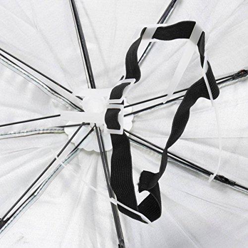 ELEGIANT Faltbare Sonnenschirm Regenschirm Hut Regenhut Sonnenhut für Outodoor Sport Golf Angeln Camping Mütze Kopfbedeckung - 6