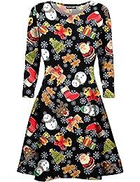 cf04e3dbe5 ... multiple colors 7fbd0 525d6 Fashion Star Kids Girls Long Sleeve Plain  Swing Mini Dress B ...