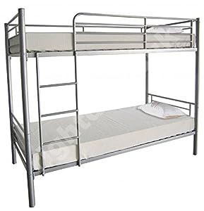 Florida-bunk Bed (silver)
