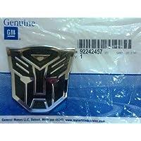GENUINE GM 92242457 Camaro Transformers Autobot Transformer Fender Emblem by Chevrolet