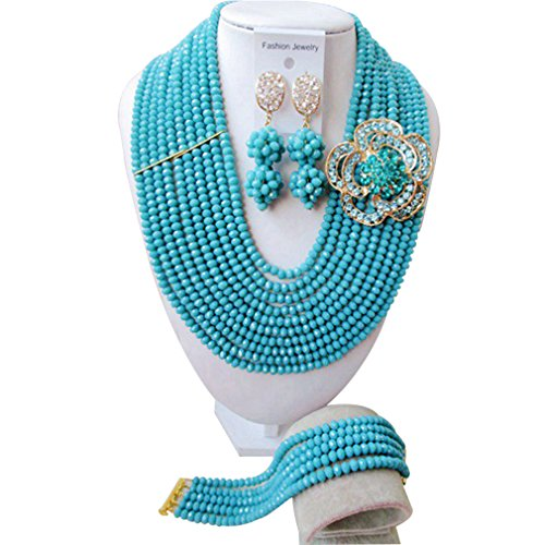 laanc-fashion-10-rows-navy-blue-crystal-african-beads-nigerian-wedding-jewelry-set