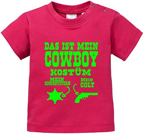 Baby Kostüm Mein - Luckja Das ist mein Cowboy Kostüm Baby T-Shirt