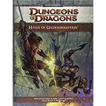 Halls of Undermountain: A 4th Edition Dungeons & Dragons Supplement by Wizards RPG Team (2012-04-17)