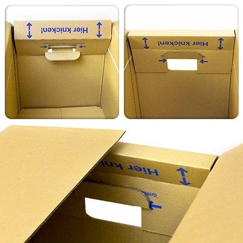30 x UMZUGSKARTONS ZWEIWELLIG – 634 x 290 x 326 mm – MOVEBOX – 2.20 EB Welle - 5