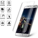 """S6 Edge Plus NOV@GO® Film en verre trempé incurvé (arrondi sur le bord) pour Samsung Galaxy S6 Edge PLUS ( 5.7 """"), protège la totalité de l'écran"""