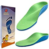 Ailaka Kids Orthotic Arch Support Shoe Insoles, Children PU Foam Cushioning Inserts