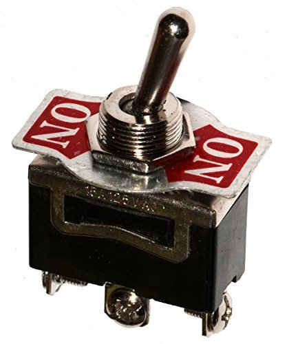 AERZETIX: Interruttore a levetta SPDT ON-ON 10A/250V switch 2 posizioni C10651