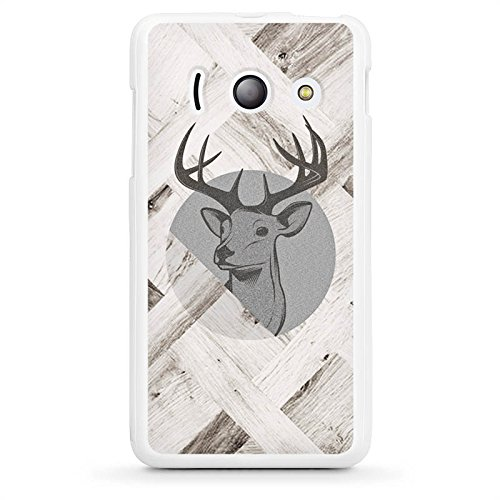 huawei-ascend-y300-housse-tui-silicone-coque-protection-cerf-bois-fort