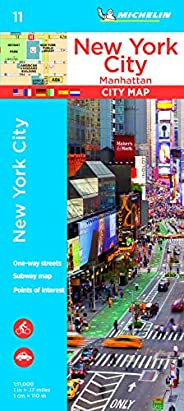 Plan New York Michelin