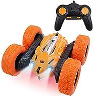 Toyshine Pioneer Stunt RC Car 4WD Remote Control Car 360 Degree Flips Double Sided Rotating Stunt Car Electric