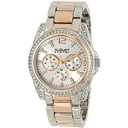 August steiner Damen-Armbanduhr Woman AS8075TTR Analog Quarz AS8075TTR