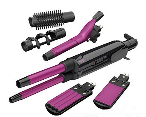 Bigoudis/redresseurs de cheveux, rouleau multifonctionnel droit, courbe automatique de redressage de cheveux de curling