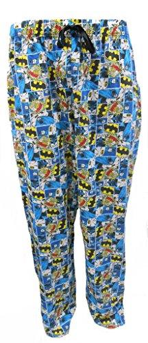 Batman DC Comics Herren Schlafanzug Pyjama Hose S (Pyjama-hose Batman)