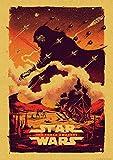 ndegdgswg Star Wars Affiche Affiche , Affiche des Vengeurs Vintage , Affiche Film Affiche Classique Homme de Fer , Affiche Affiche Ancienne (40 * 60cm@30X21cm_7