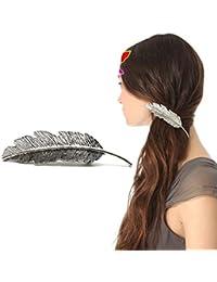 GGG Forme des feuilles barrette épingle à cheveux