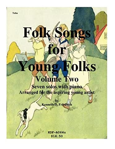 Folk Songs for Young Folks, Vol. 2 - tuba and