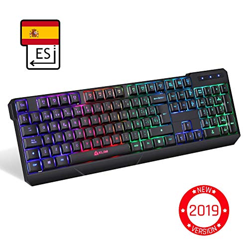 KLIM™ Chroma   Teclado Inalámbrico Gaming ESPAÑOL