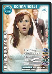 Doctor Who Monster Invasion Extreme Common Card #222 Donna Noble