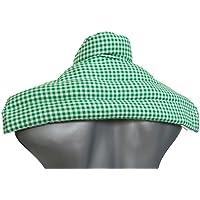 Traubenkernkissen Schulter & Nackenkissen mit Kragen | grün-weiß | Wärmekissen Körnerkissen | Unser Wärme-Nackenkissen... preisvergleich bei billige-tabletten.eu
