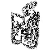 Bijou d'oreille en forme de fleur - Acier chirurgicalBijou pour le bord de l'oreille, l'hélix, le cartilage - Faux piercing.Aucun perçage nécessaire.Guide des tailles inclus (français non garanti).
