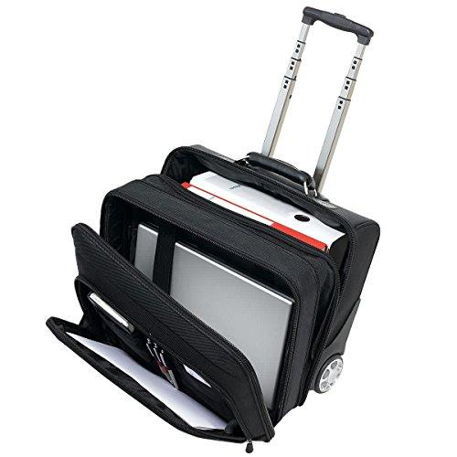 PureDay Pilotenkoffer mit Trolleygestell - Trolleygestänge