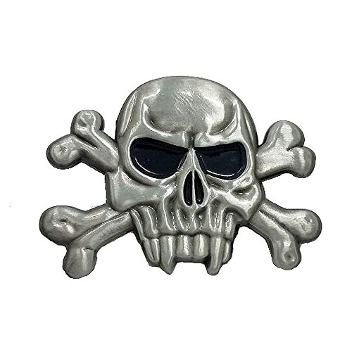Pin insignia calavera