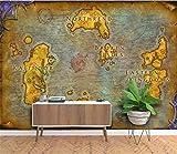Sucsaistat Papier Peint Personnalisé 3D Mural Européen Carte Ancienne Jeu en Ligne World of Warcraft Fond D'Écran Papier Peint Papel De Parede,250 * 175Cm...