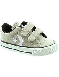 Converse - Zapatos de jugador estrella 2 Velcro, Beige