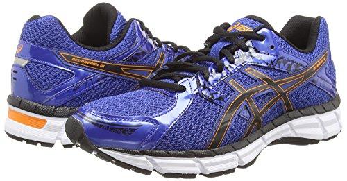 Asics Gel-oberon 10, Chaussures de Running Entrainement Homme Bleu (blue/black/orange 4290)