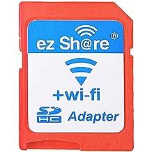 EZ Compartir Wifi Adaptador de tarjeta SD WiFi Wireless lector de tarjetas microSDHC de alta velocidad 1,5MB/s Max Soporte tarjeta micro SD de 32GB