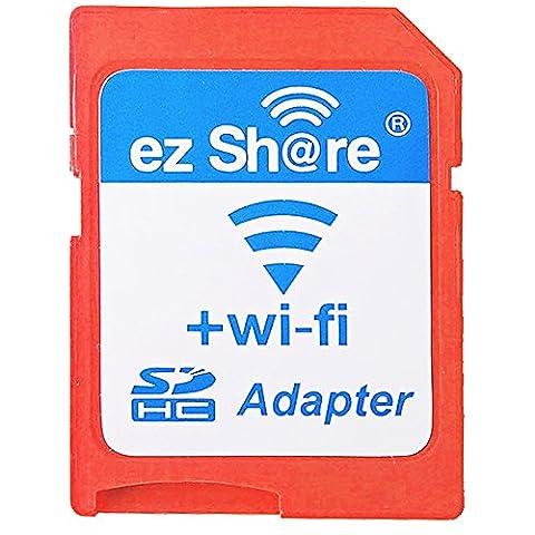 ez Share SD-Karte Wifi Karten-Sets 1.5MB/s High Speed Wireless Wifi SD-Speicherkartenadapter für Max Support 32GB MicroSDHC Card