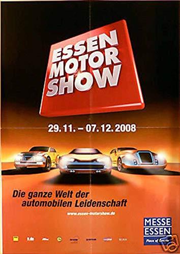 Essen Motor Show - 2008 Veranstaltungsposter A2 -