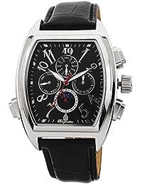 Burgmeister Sao Paulo BM131-122 - Reloj de caballero automático, correa de piel color negro